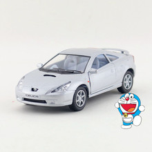 Free Shipping/1:34 Scale/Japan Toyota Celica Car/Education Model/Classical Pull back Diecast Metal toy/Collection/Gift/Children
