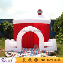 13 * 13 * 13 feets Santa House inflatable Christmas santa calus house for holiday decoration / inflatable christmas house toys(China)