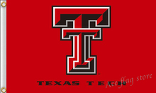 90x150cm Texas Tech flag Red Raiders banner 100D free shipping