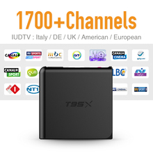European Android 6.0 Set Top Box TV Receiver Free 1700 IUDTV IPTV Channels French Arabic UK Turkish Netherlands Better Than MXV