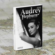 30pcs/lot Vintage high quality Audrey Hepburn postcard 300g paper for gift Hollywood classic retro greeting cards(China)