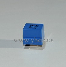 Free shipping YHDC TV19E Voltage 500V Current 5mA/5mA 2000:2000 PCB Welding Linearity 0.1 Mini Current Voltage Transformer(China)