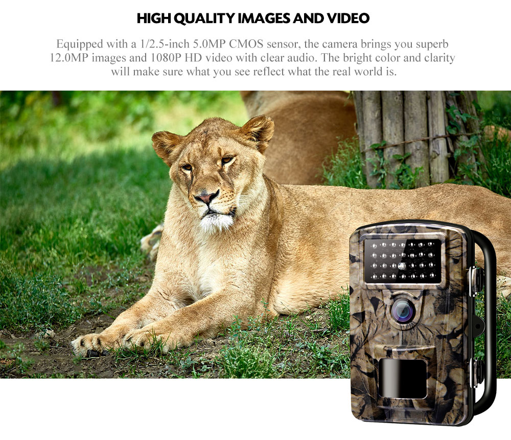 ZECRE PH700A Waterproof Infrared Outdoor Camera