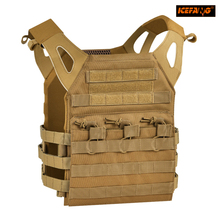 Tactical Vest Military Body Armor Plate Carrier Magazine Chest Rig Airsoft Paintball Chest Protector Molle Loading Bear Gear(China)