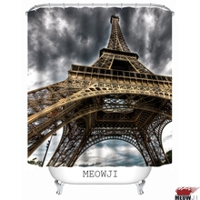 Paris France The Eiffel Tower Romantic Custom Shower Curtain Bathroom Decor  Various Sizes Free Shipping(