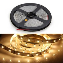 OPOWAY Flexible Led Strip Light 300 LED 3528 SMD Warm White 3100K LED Ribbon 5 Meter or 16 Feet,12 Volt 24 Watt