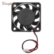 Drop shipping 12V 2 Pin 40mm Computer Cooler Small Cooling Fan PC Black F Heat sink Free shipping & wholesale Jan 8