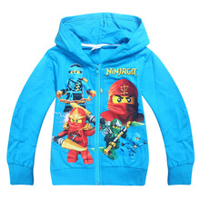 2017 Boys Hoodies Ninja Ninjago hoodie Children's Sweatshirts For Boy Cartoon Kids Outwear For Boys Tops Vestidos Costume 3-10Y(China)