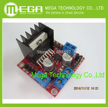 1pcs/lot New Dual H Bridge DC Stepper Motor Drive Controller Board Module L298N for Ar-duino   Integrated Circuits