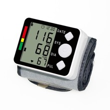 Digital Esfigmomanometro blood pressure tonometer tensiometro Intelligent Wrist Digital Blood Pressure Meter(China)