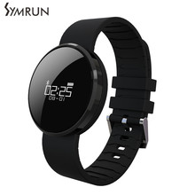 Symrun For Android IOS Samsung Xiaomi Perfect For Women UW1 Mirror Surface Screen Bracelet Heart Rate Bluetooth Smart Band
