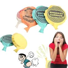 New Fashion Self Inflating Whoopee Bag Cushion Fart Sound Poo Gag Gift Funny Toy(China)