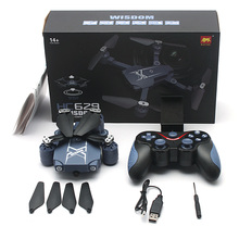HC629W Foldable RC Quadcopter Mini Drone RC Helicopter WiFi FPV With HD Camera Altitude Hold / Headless Mode VS H31 H36 X5C Dron(China)