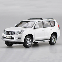 1/18 Toyota Land Cruiser Prado Alloy Diecast SUV Car Model Toys For Christmas Gifts Collection Free Shipping(China)