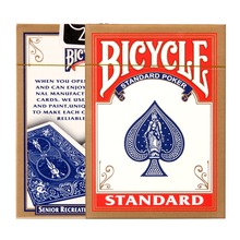Bicycle Rider Back Playing Cards Poker Color Random Texas Holdem cards Waterproof and dull poker star Board games(China)