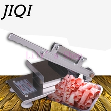 Commercial household manual meat slicer lamb beef meatloaf frozen meat cutting machine Vegetable Mutton rolls grinder cutter(China)