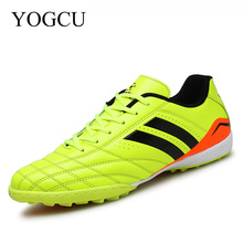 YOGCU Soccer Shoes Football Kids Men Soccer Cleats Superfly Sneakers For Boys Football Shoes Tenis Feminino Esportivo Cleats