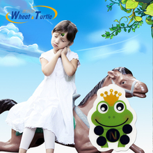 4Pcs/Lot Frog Prince Cartoon Infant Baby Safety Care LCD Forehead Thermometer Digital Body Fever Medical For Children