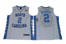2017 HOT NIKE North Carolina Tar Heels Joel Berry II 2 College  Ice Hockey Jersey - White Size S M L XL 2XL 3XL