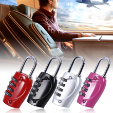 4 Digit Password Safety Lock Wide Shackle Combination Padlock 4 Combination Security Travel Suitcase boxs Luggage Bicycles Lock