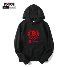 Buy XS-3XL Women Men Bitcoin Logo Print Cap Sweatshirt Casual Streetwear Virtual Currency Clothes Winter Hoodie Hipster Outwear Coat for $10.02 in AliExpress store