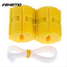 Vehemo 2pcs New Universal Magnetic Gas Fuel Saver Car Reduce Emission Accessories