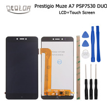 Ocolor 5.3inch For Prestigio Muze A7 PSP 7530 Duo LCD Display and Touch Screen 100% Screen Digitizer Assembly+Tools + Adhesive