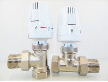 Heating Actuator Energy saving DN15 DN20 thermostatic Radiator Valve underfloor heating system(China)
