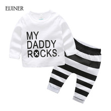 Baby Boy Clothes Set SPring Autumn 2018 New Baby Boy Clothing Cotton Kids Girls Clothing Newborn Baby Clothes t-shirt+Pant