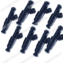 High Flow performance 1200cc 114lb Fit 2005-2013 Ford Mustang V8 Fuel injector Injectors FAST SHIPPING(China)