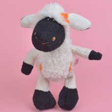 25cm Black Face White Sheep for Cute Baby/ Kids Gift, Lamb Plush Doll Free Shipping