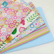 New 40cm*50cm Colorful Summer Style Cotton Fabric For Sewing,Patchwork,Home decoration,Cushions,Pillows And Quilting Crafts(China)