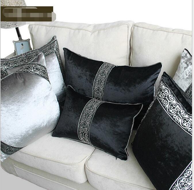 Подушка подушки Роскошь кружево Velvet автомобиля подушки, Декоративные подушки, декоративные подушки, чехлы офис(China)