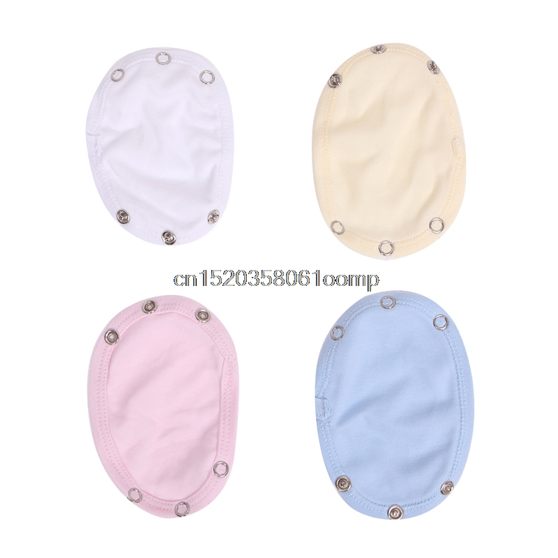Baby Care Baby Nappies 5pcs Baby Romper Partner Super Utility Bodysuit Jumpsuit Diaper Lengthen Extend Film Blue/white/yellow/pink