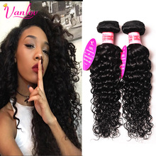 Indian Remy Hair Water Wave Virgin Hair 2 Pieces 8a Grade Indian Curly Hair Natural Wave Human Hair Extensions Fast Shipping 1b