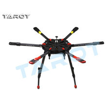 Tarot X6 Hexacopter TL6X001 Umbrella Folding Arm w/ Electronic Landing Gear for FPV Photography