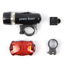 Bicycle Front Light set 5 LED Mountain Bike Cycling Light Head and Rear Lamp Light Super Bicycle Accessories Set