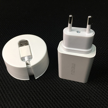 Original Fast Charger For MEIZU Pro 6 5 MX6 Smartphone Qualcomm Quick Charge QC 3.0 Usb Wall Charger Adapter +Type-C Data Cable