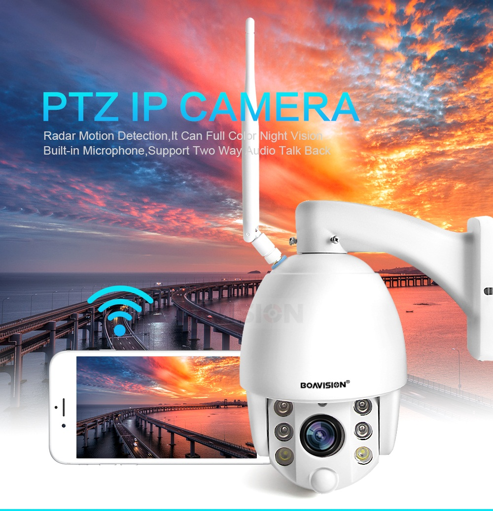 01 Wifi PTZ IP Camera