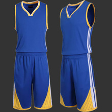 Men's Blank Basketball Jersey Game Team Uniform Sportswear Kits Male Training Shirt Adult Sports Clothing Suit(China)