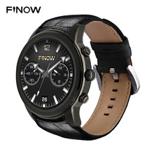 FINOW X5 Air Smartwatch Phone Android 5.1 3G Quad Core 1.3GHz 2GB RAM 16GB ROM WIFI GPS BT 4.0 Smart Watch For Android IOS