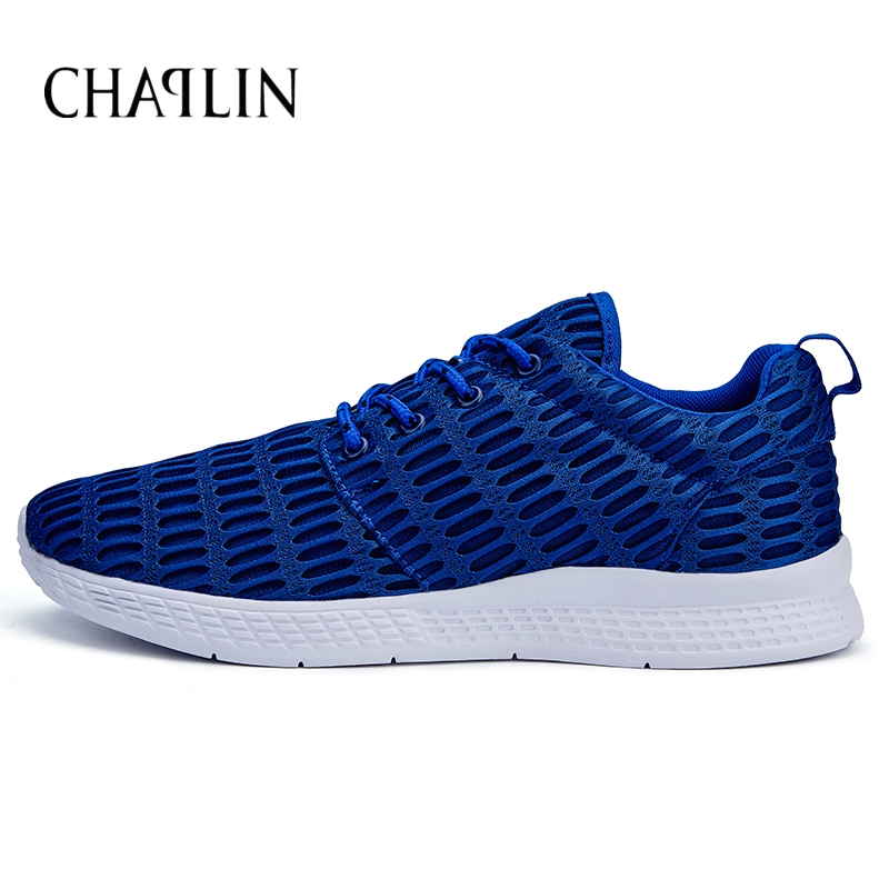 Men Hot Casual  Walking Shoes Breathable Calzado Hombre Spring Summer Blue Comfortable Daily Walking Men Sneakers 1702<br><br>Aliexpress