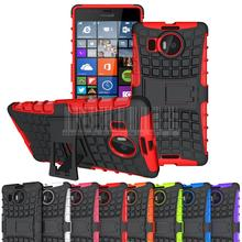 2in1 Phone case For Nokia Lumia 950 XL Rugged Hybrid Armor Hard Impact Protective Skin Case Stand Cover  (Not for Lumia 950)