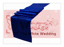 36 piece royal blue table runners  For Wedding  FREE SHIPPING  for wedding table cloth