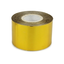 1pcs big foil nail sticker rolls tape 120M gold nail decal 3d nail art decoration diy accessories suppliers JH104