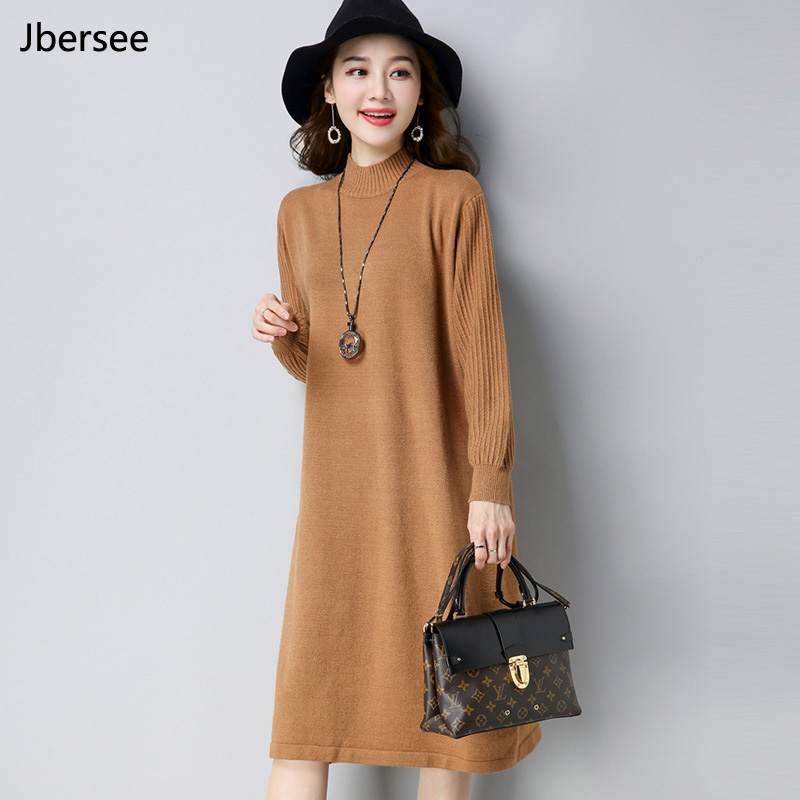 Vintage Casual Turtleneck Long Knitted Sweater Dress Women Slim Bodycon Dress Pullover Female Autumn Winter dresses Vestido Îäåæäà è àêñåññóàðû<br><br>