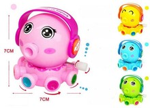 BOHS Wind Up Plastic Octopus Toys, Run Move(China)