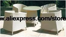 Creative White Rattan Leisure Sofa Chair Table Elegant Garden Wicket Balcony Furniture Swing Pool Villa Hotel House furniture