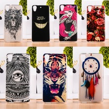 Soft TPU Mobile Phone Case For HTC Desire 626 650 628 A32 626w 626D 626G 626S Silicon Painted Back Cover Shell Skin Shield