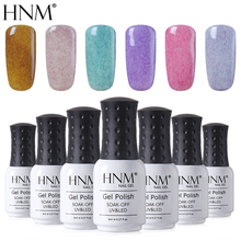 HNM 8ml Nail Polish Faux Fur Color Stamping Paint Gellak Semi Permanent Hybrid Varnish Gelpolish Enamel Lucky Lacquer(China)